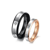 """Forever Love"" Couples Rings - C-RIN-1030"