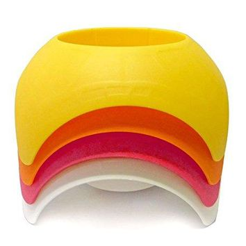 Beach Vacation Accessory Turtleback Sand Coaster Drink Cup Holder 4 Pack Sunshine