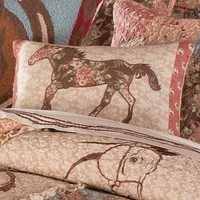 Whispering Creek Horse Pillow