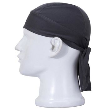 Quick Dry Pure Cycling Cap Head Scarf Summer Men Running Riding Bandana Headscarf Ciclismo Pirate Hat Hood Headband ciclismo cap