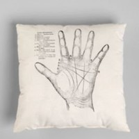 Rise and Fall Palmistry Pillow