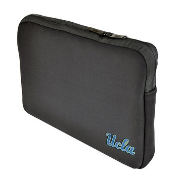 UCLA Bruins Joe Bruin Black Neoprene Laptop 15-15.6 inch Sleeve Bag