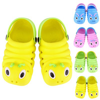 Choice of Colorful Caterpillar Clog Shoes. Comfortable and easy to clean