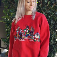 Looney Tunes Snow Crew Sweatshirt