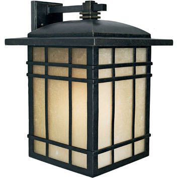 Quoizel HC8413IB Hillcrest Extra-Large Outdoor Wall Lantern