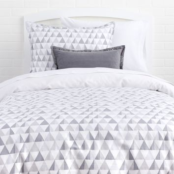 Ombre/Prismatic Reversible Duvet and Sham Set