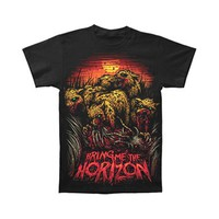 Bring Me The Horizon Men's  T-shirt Black Rockabilia