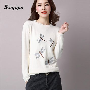 6 Color New 2016 O-Neck Winter Autumn Women Sweater Long Sleeve Pullovers Knitting Casual Sweaters pull femme sudaderas jumper