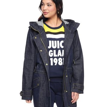 Denim Parka by Juicy Couture