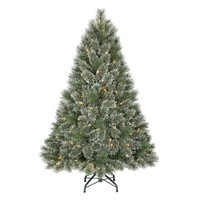 4.5' Pre-Lit Virginia Pine Christmas Tree - Clear Lights