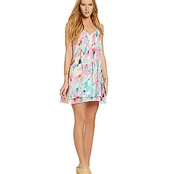 Sanctuary Clothing Spring Fling Dress - Watercolor Camo