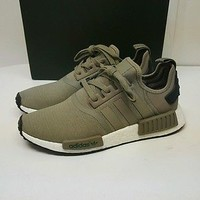 NWT ADIDAS NMD R1 Runner Mesh Trace Cargo Trail OLIVE GREEN BA7249 Men Size US 9