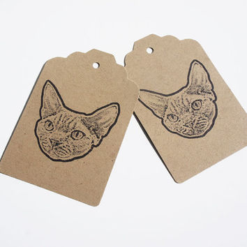 Custom Pet Face Stamp: Your Cat or Dog's face on a stamp!