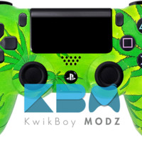 Friendly 420 Custom PS4 Controller