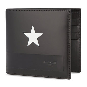 Givenchy White Star Wallet