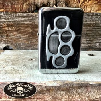 Brass Knuckles Lighter (lighter004)