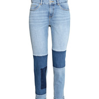 Boyfriend Patchwork Jeans - from H&M