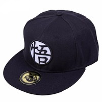 Dragon Ball Z Goku Fitted Baseball Cap Hat