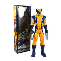 New 31CM Super Hero X-men Wolverine PVC Action Figure Collectible Toy The AVENGERS Hero Series Toy Dolls Christmas Gift for Kids