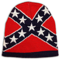Rebel Flag Knit Hat