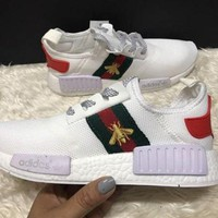 CHEN1ER GUCCI Adidas NMD Leisure sports shoes