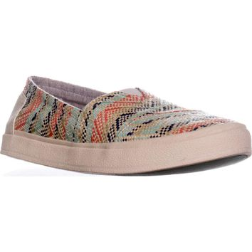 TOMS Avalon Casual Slip On Sneakers, Natural Multi, 9.5 US / 41 EU