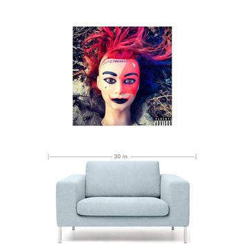 "ilovemakonnen - iLoveMakonnen Album Cover 20"" x 20"" Premium Canvas Gallery Wrap Home Wall Art Print"
