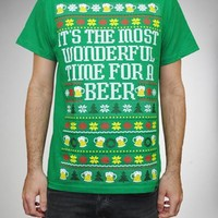 Ugly It's the Most Wonderful Time for Beer Tee