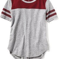 Football-Style Tee for Girls | Old Navy