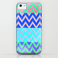 Chevron Spring iPhone & iPod Case by M Studio