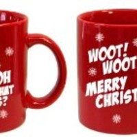 1 Camel Commercial-Merry Christmas-Woot! Woot! Coffee Mug-CLOSEOUT PRICE