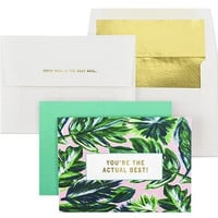 "Ashley Brooke Designs ""You're The Actual Best"" Card Set of 10"