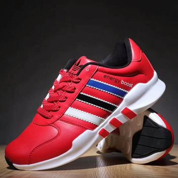 Adidas NEO Boost  Trending Running Sport Casual Shoes Sneakers For Women Men Red G-XYXY-FTQ