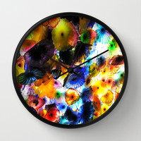 Dale Chihuly Detail at the Bellagio Wall Clock by UMe Images
