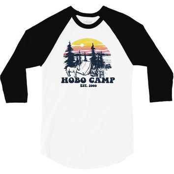 hobo camp 3/4 Sleeve Shirt