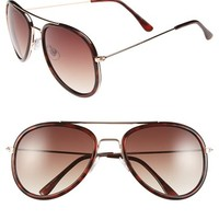 Junior Women's BP. 'Fauxhawk' 56mm Sunglasses