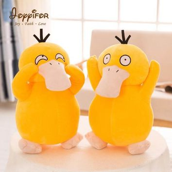 Joyyifor Cute Cartoon es Plush Toys 30cm Yellow Psyduck Stuffed Animal Collectible Cute Soft Dolls For Kids giftKawaii Pokemon go  AT_89_9