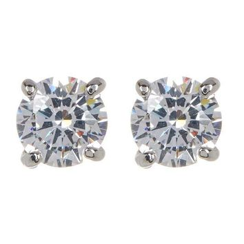 Ariella Collection | CZ Stud Earrings