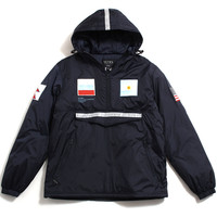 Summit Team Pullover Jacket Navy