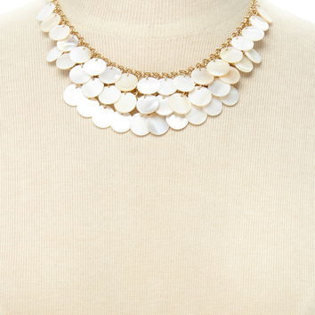 Faux Stone Statement Necklace | Forever 21 - 1000171485
