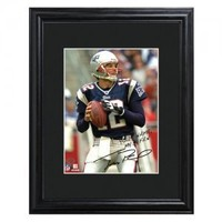 Personalized NFL Autographed Print - New England Patriots - Tom Brady