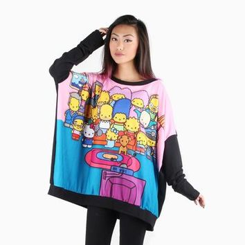 The Simpsons x Hello Kitty Oversized Sweater