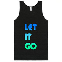 let it go frozen tank top