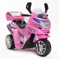 Kids 6v Pink Touring Trike with Storage Box - £89.95 : Kids Electric Cars, Little Cars for Little People