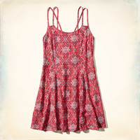 Pattern Swing Dress
