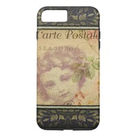 French Postcard iPhone 8/7 Case
