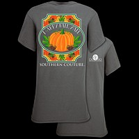 Southern Couture Classic Happy Fall Yall T-Shirt