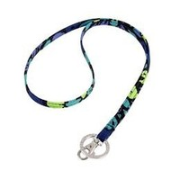 Vera Bradley Lanyard Necklace in Indigo Pop