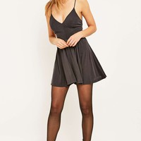 Silence + Noise Vanessa Black Playsuit - Urban Outfitters