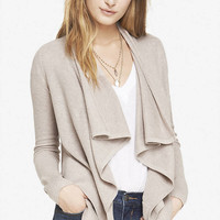TEXTURED KNIT LAYERED HEM COVER-UP from EXPRESS